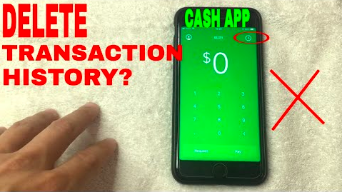 How To Delete Cash App Transactions History 1 844 833 3033 Prepaid Debit Cards How To Get Money Cash Card