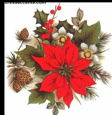 Tube Image Noel.Tube De Noel Navidad Pinterest Decoupage Poinsettia