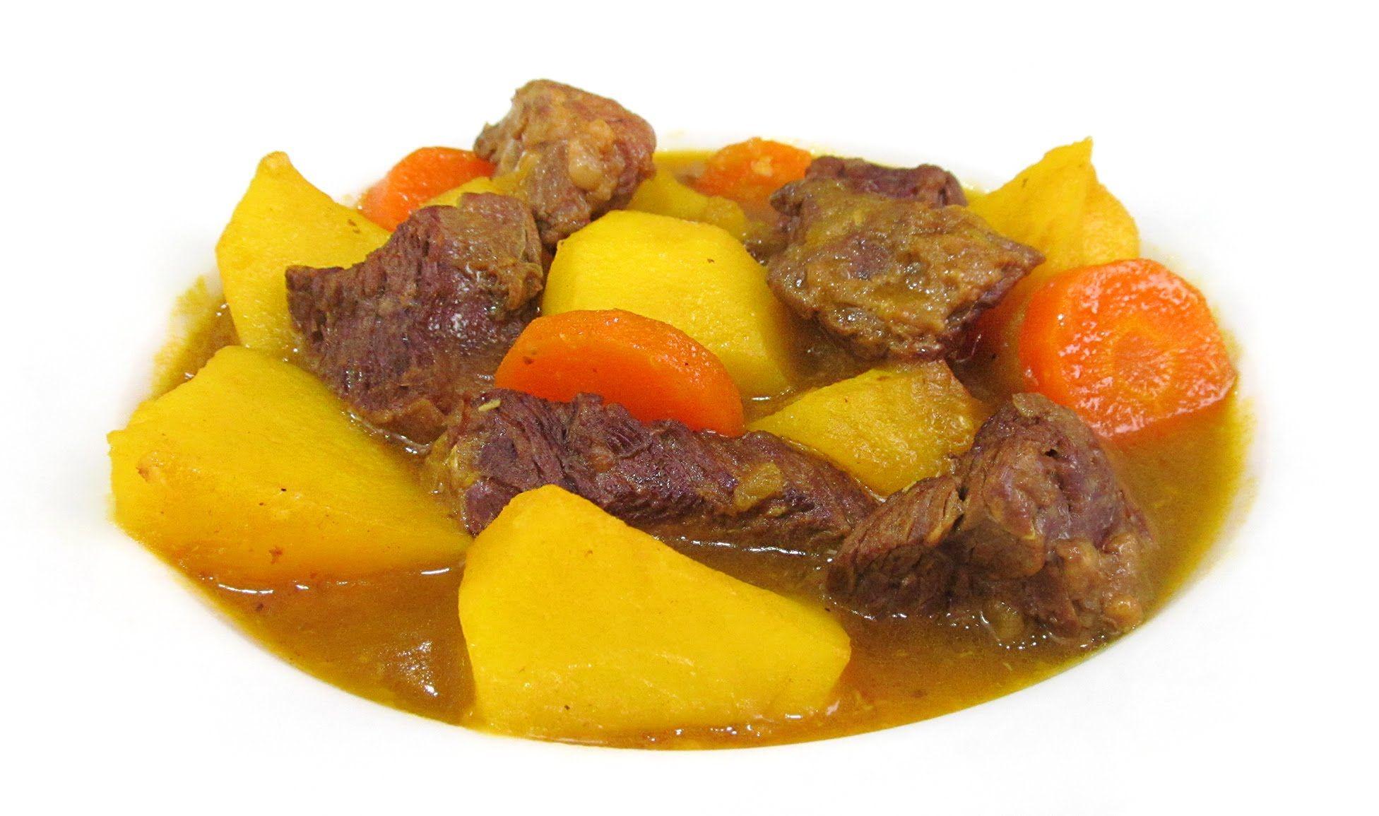 Estofado de Carne de Ternera con Patatas