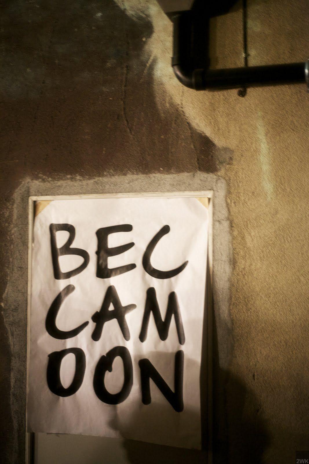 2WK: becca moon @ a. kinney court