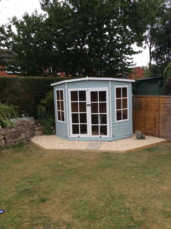 Finished And Painted Summerhouse