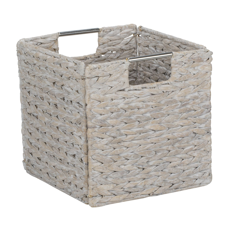 Odessa White Wash Cuba Foldable Basket | أفكار | Bedroom ...