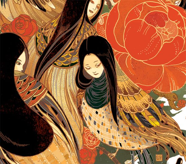 The New York Times color illos by Victo Ngai, via Behance