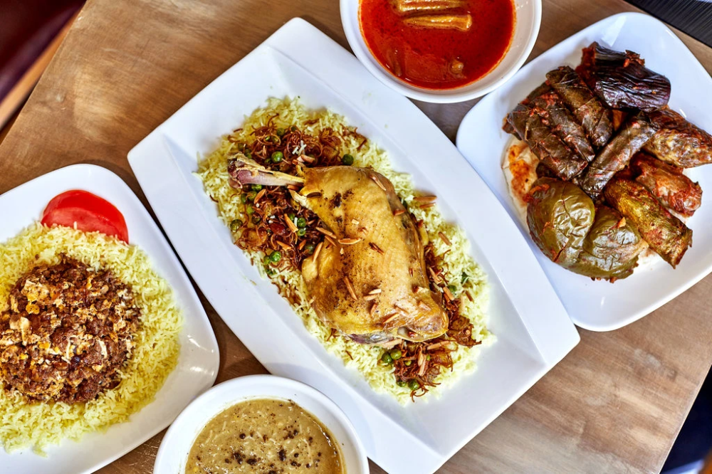 A Menu Ruled By Chance At Iraqi House In Bay Ridge Brooklyn Food Dishes Iraqi