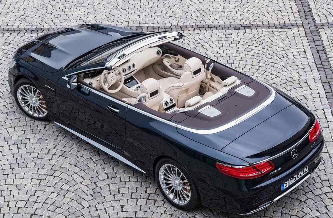 20182019 mercedesamg s 65 cabriolet convertible top
