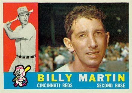 1960 Topps Martin 1960 Topps Baseball Cards Baseball