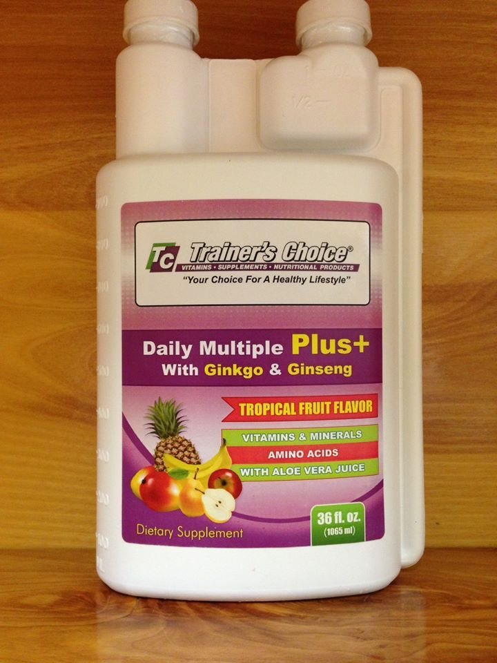Liquid daily multiple plus is an amazing blend of whole