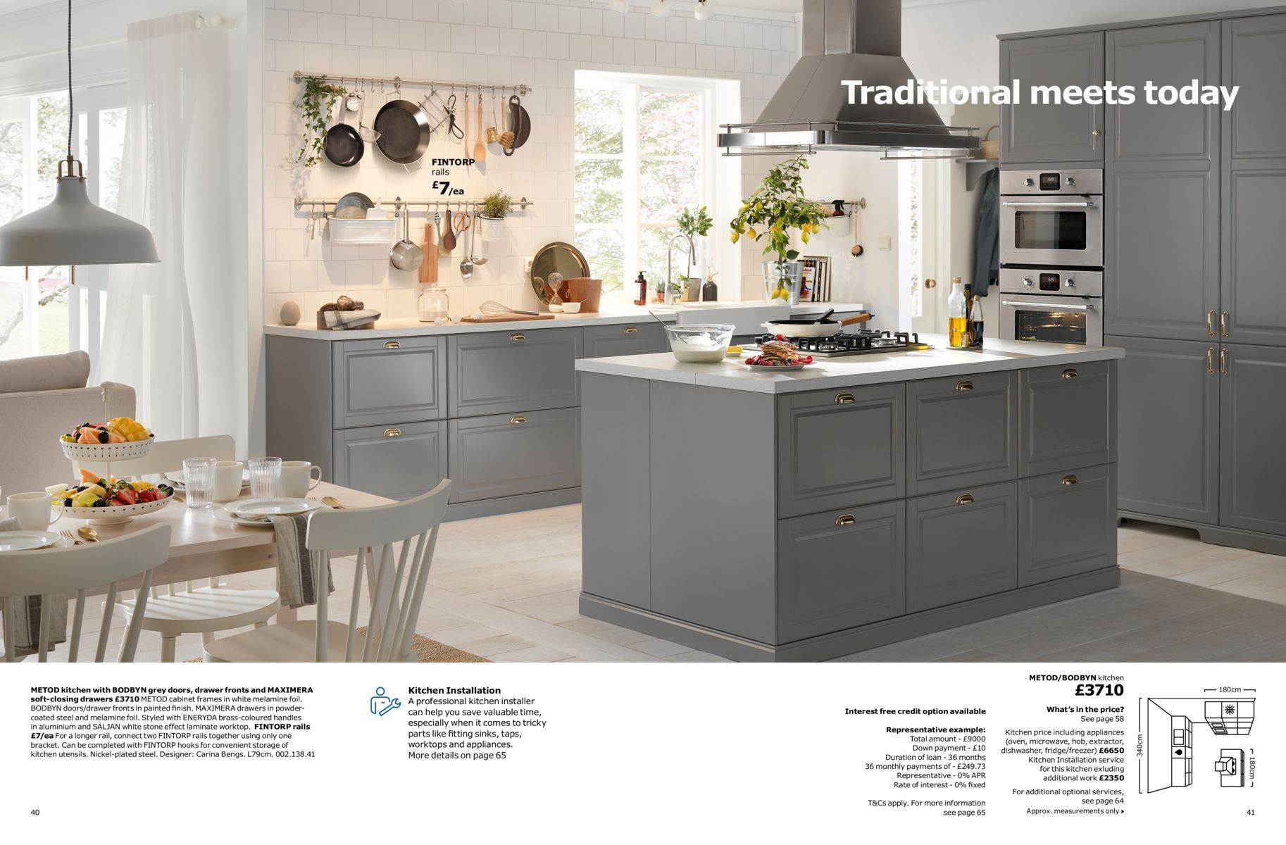 Kitchen Brochure 2018 Bodbyn Kitchen Layout Kitchen