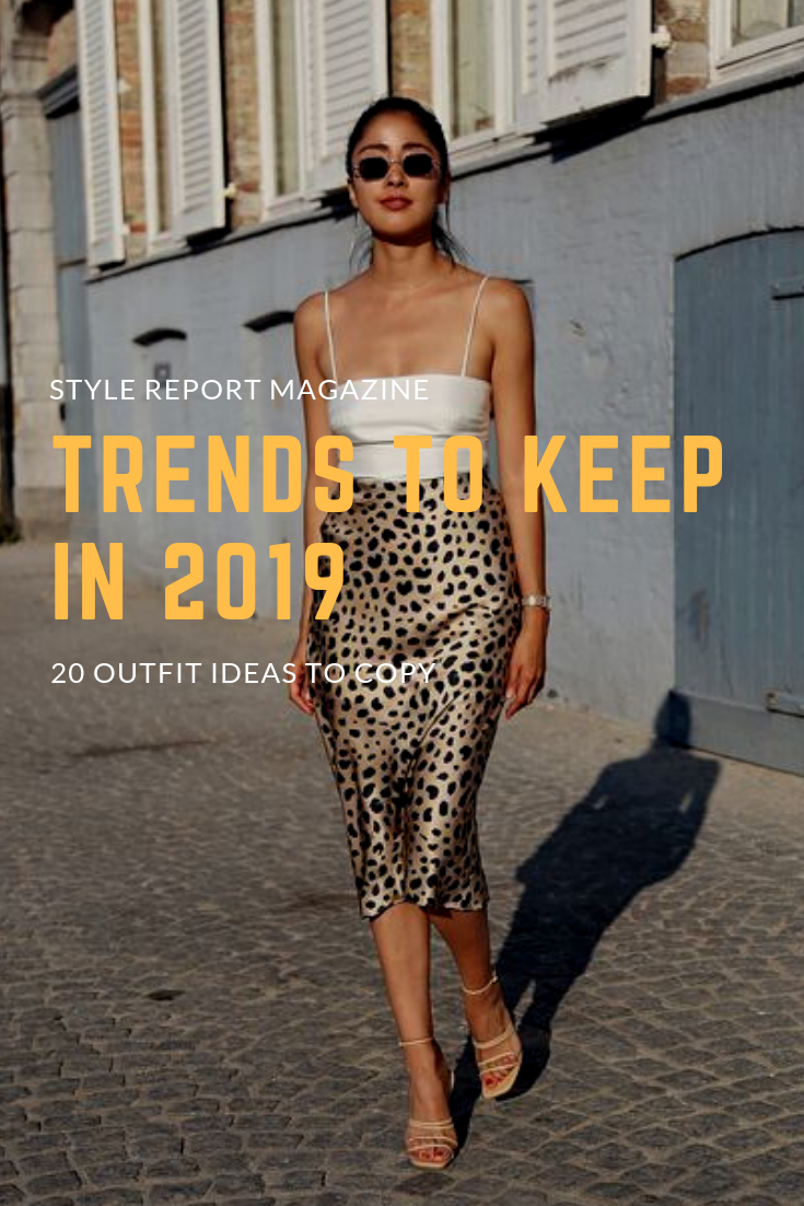 a4c6aaac5739 Trends to Keep in 2019 Leopard Skirt White Cami Neutral Sandals Date Outfit  ideas