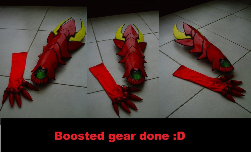 issei hyodo's boosted gear done !!! by downfall-cosplay | Cosplay