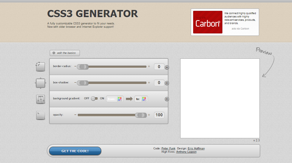 8 free html5 css3 template generators html5 and css template