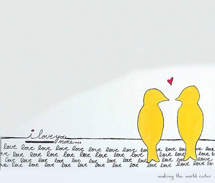 Love Bird Art Bird Art Art Sharpie Drawings