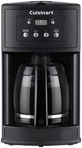 Cuisinart Dcc 500 12 Cup Programmable Coffeemaker Black Discontinued By Manufacturer Coffee Maker Drip Coffee Maker Best Coffee