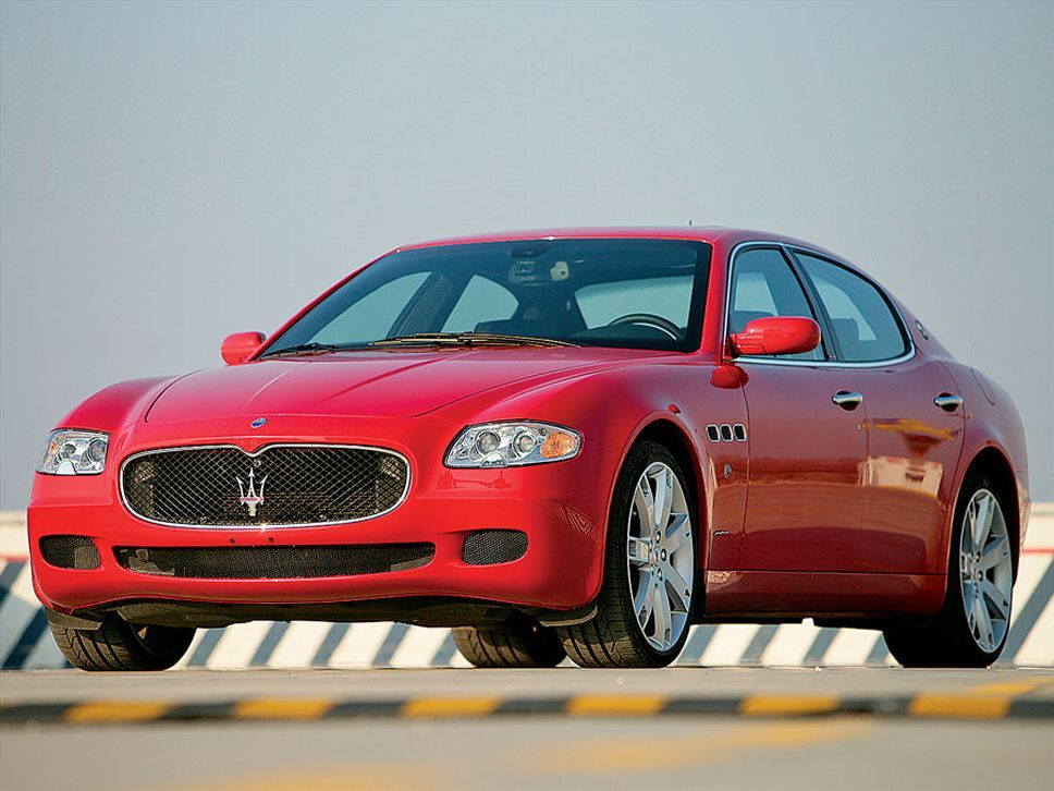 2007 Maserati Quattroporte Sport Gt Front Left Classic And Sports