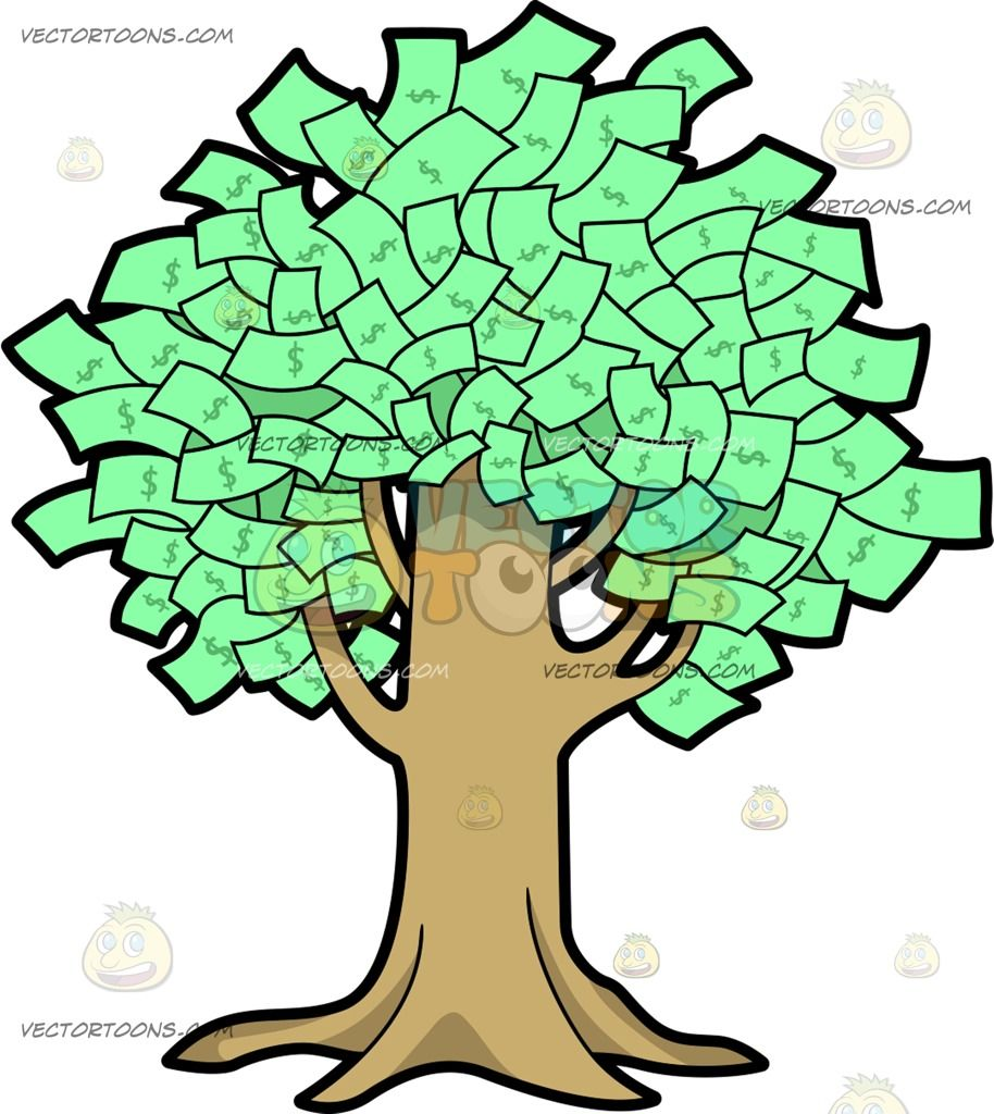 A Fruitful Money Tree Money Trees Green Dollar Graffiti Pictures