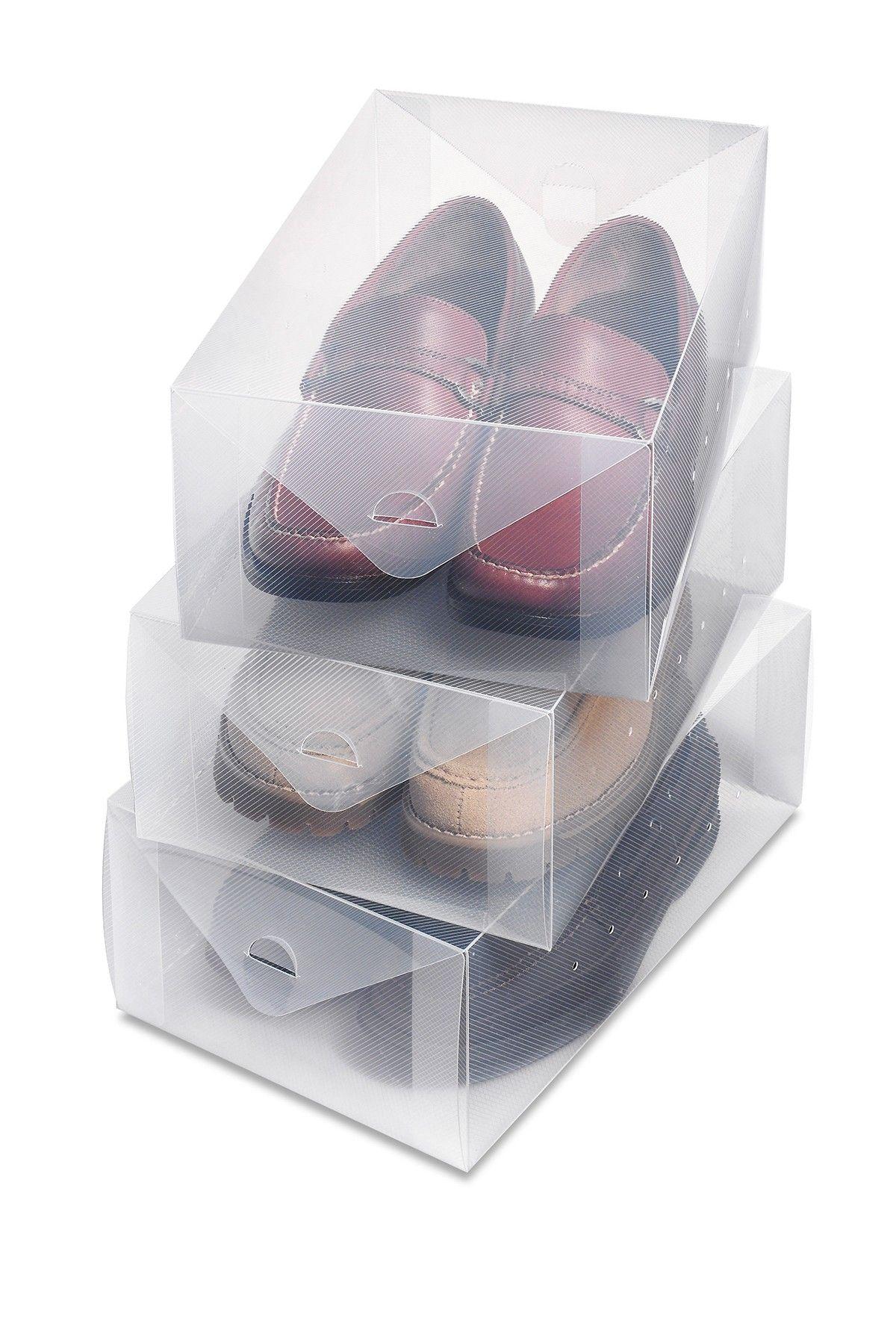 Clear Vue Shoe Boxes - Set of 3 on @HauteLook