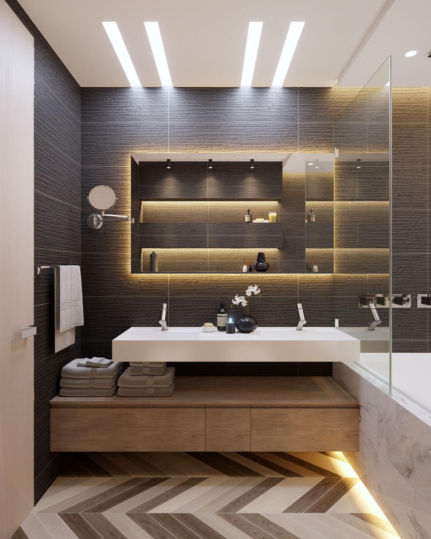 Bathroom Washroom Design Spa Bathroom Design Ideas: Apartments In UkraineDesign: DE&DE Interior