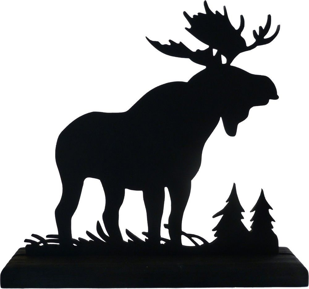 moose silhouettes moose silhouette majestic moose hand cut wood decorative 7612
