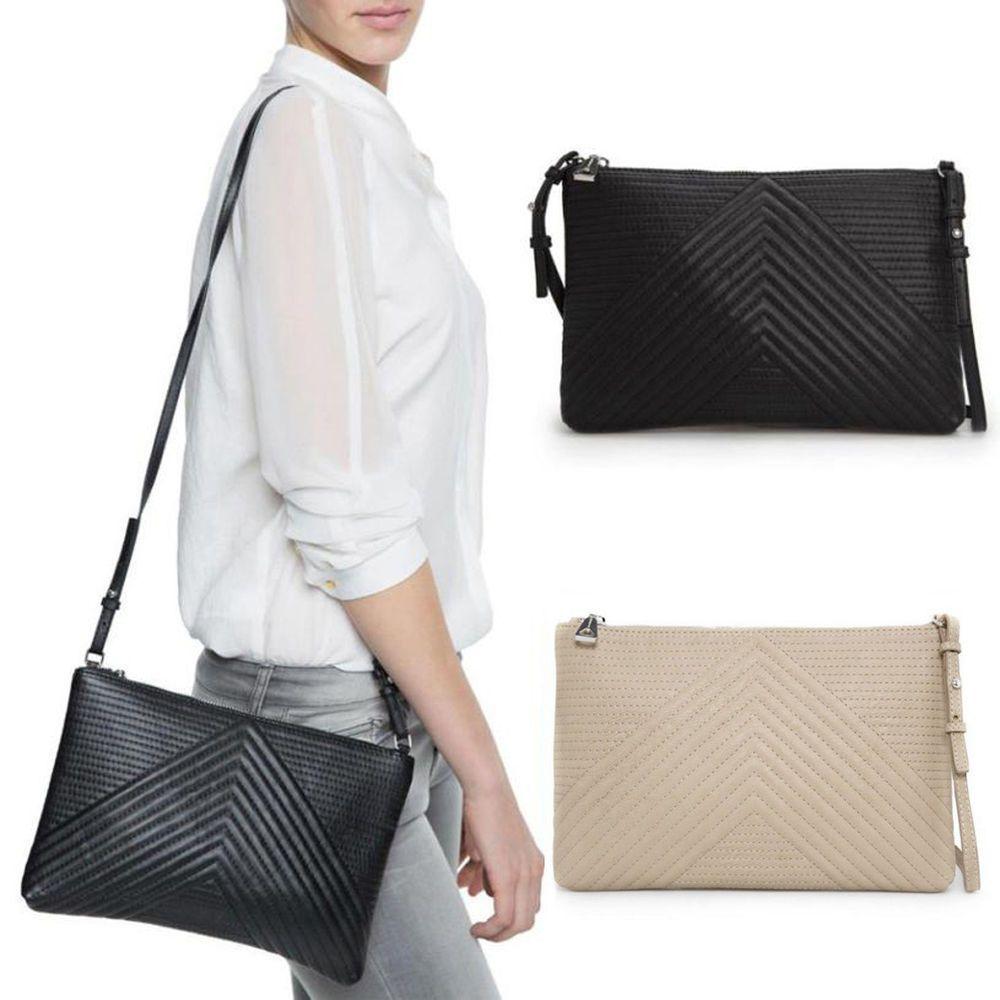 Lady Clutch Tote  Purse Cross Body Shoulder Bag Messenger Leather Handbag