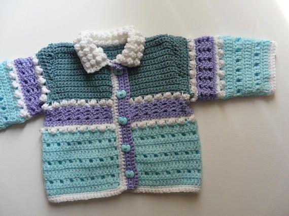 Crochet bebé conjunto: Chaleco Snowball juego Capo | crochet libo ...