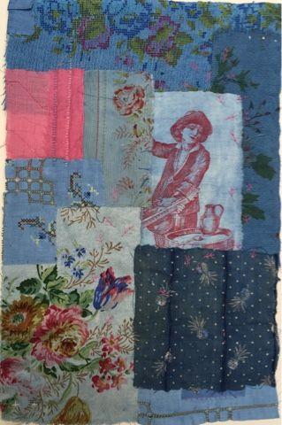 pingl par ly sur la magie du textile pinterest broderie tissu et textiles. Black Bedroom Furniture Sets. Home Design Ideas