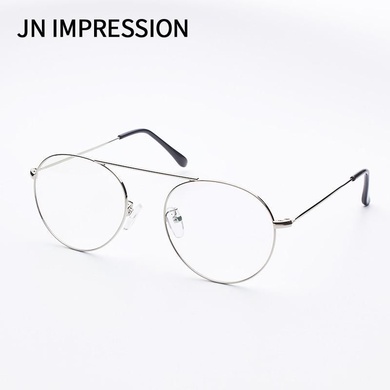 8b1bbdfe86c JN Round Spectacle Glasses Frames Glasses With Clear Glass Women Men Optical  Frame Transparent Glasses For Harry Potter T3207. Yesterday s price  US   4.99 ...