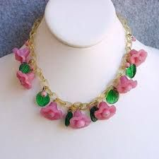Image result for early celluloid necklaces