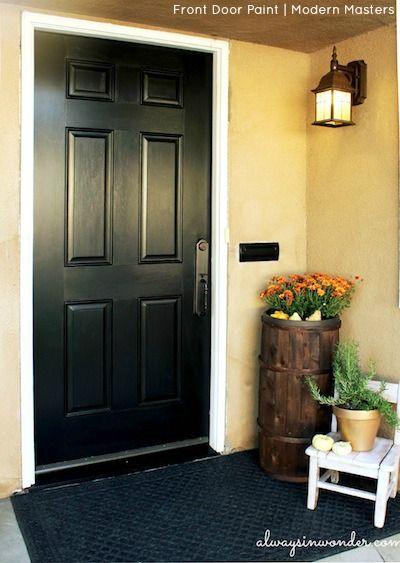 Adore Your Front Door Contest Winner Jennifer Curtis Of California Used Modern Masters Front Door Paint Painted Front Doors Front Door Paint Colors Front Door