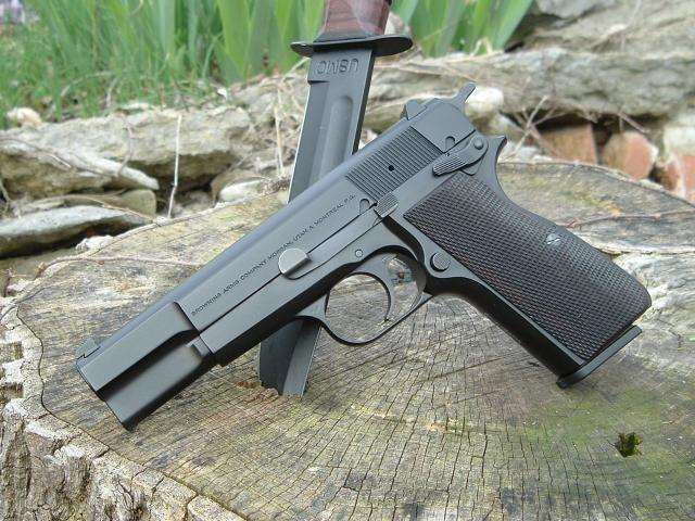 Gun-Gallery — Browning Hi Power - 9x19mm | Ballistic