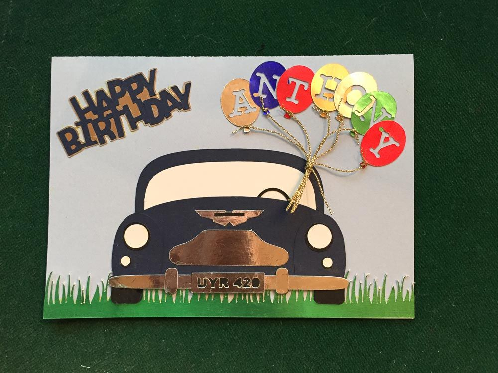 Birthday Cards Brother In Law ~ A birthday card for my brother in law who loves classic cars