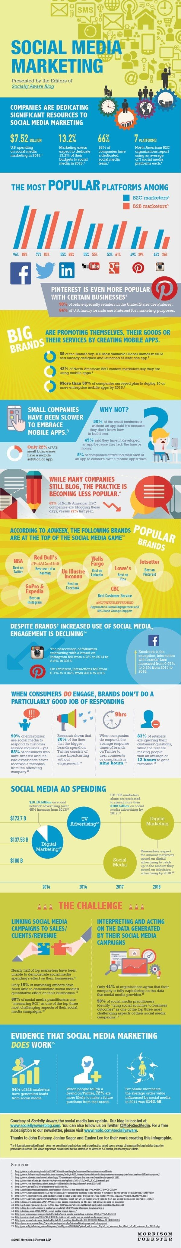 Creating a b2b digital marketing plan for 2017 infographic smart - Infographic The Problems With Social Media Marketing
