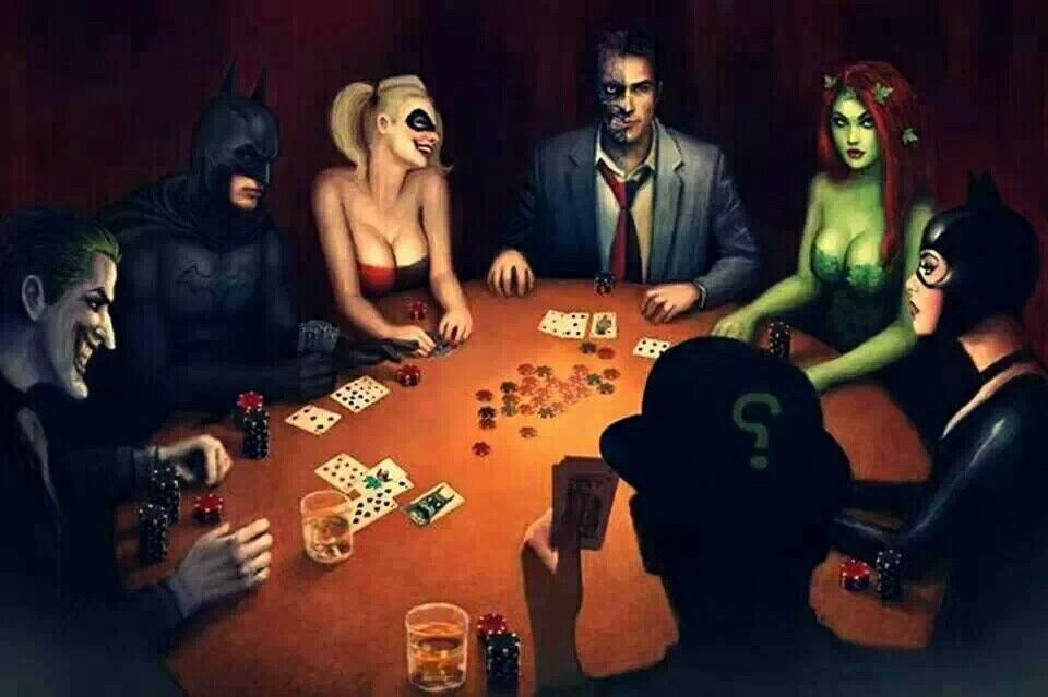Pin By Aud Ventura On The Heros Poker Comic Book Characters Gotham City