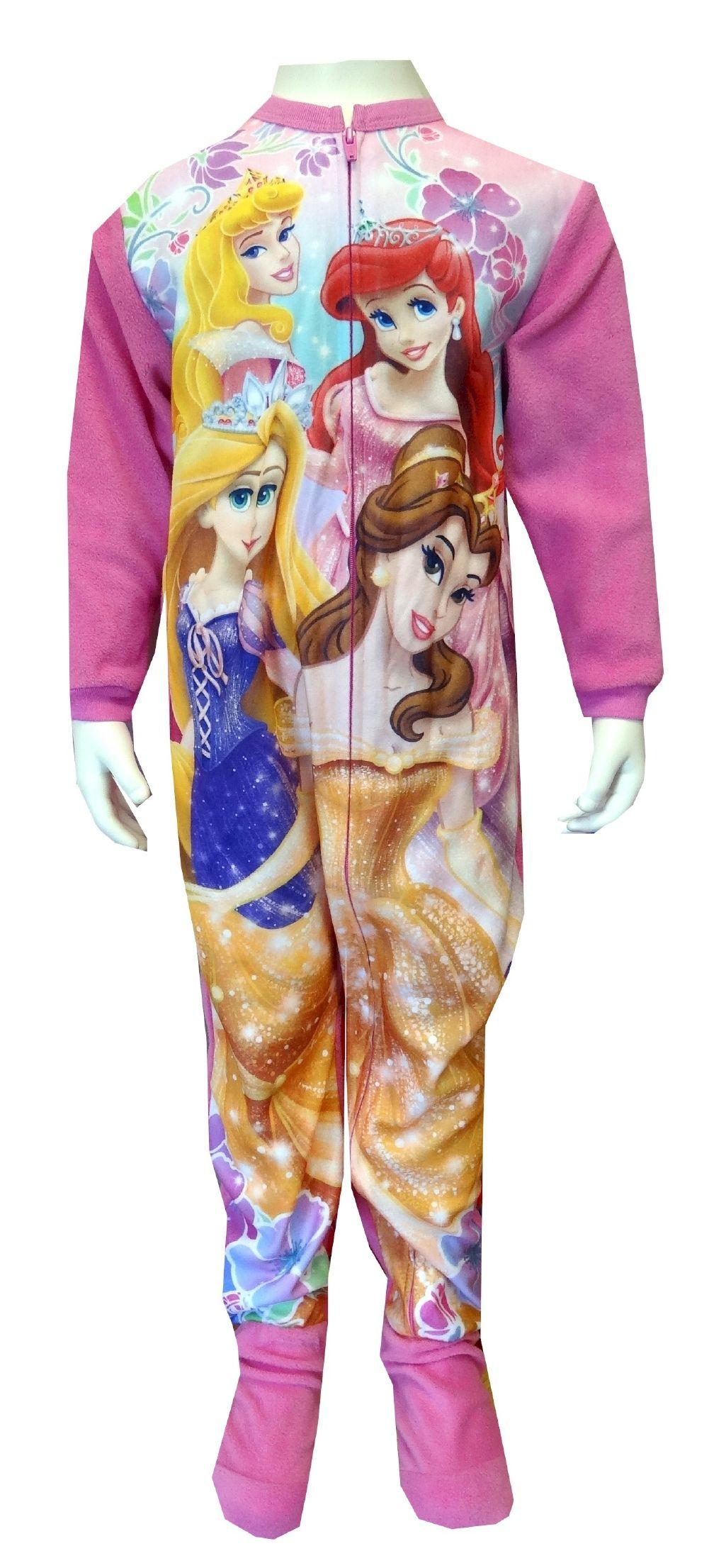 Disney Princess Toddler Onesie Footie Pajama Sleeper