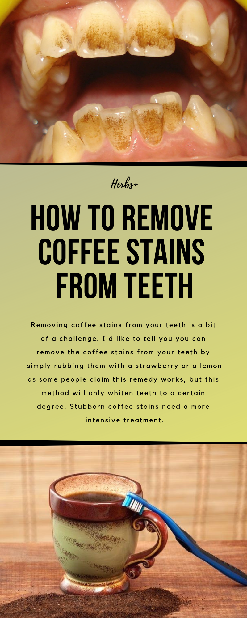 How To Remove Coffee Stains >> How To Remove Coffee Stains From Teeth Healthcare Coffee Stain