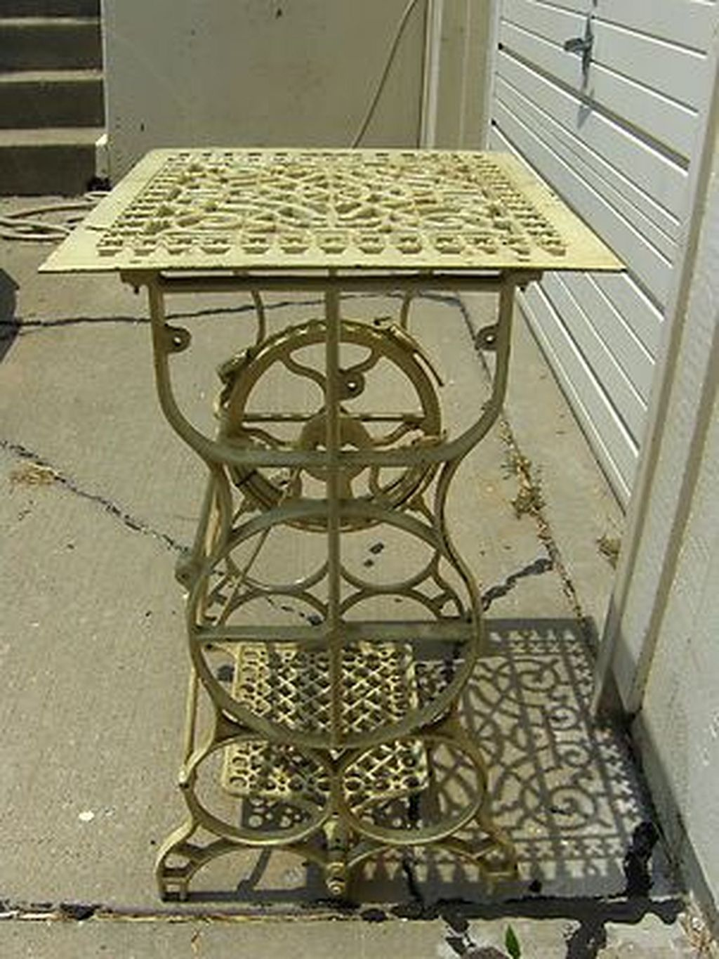 Singer Sewing Table Repurpose For In Home Ideas Nahtische Alter