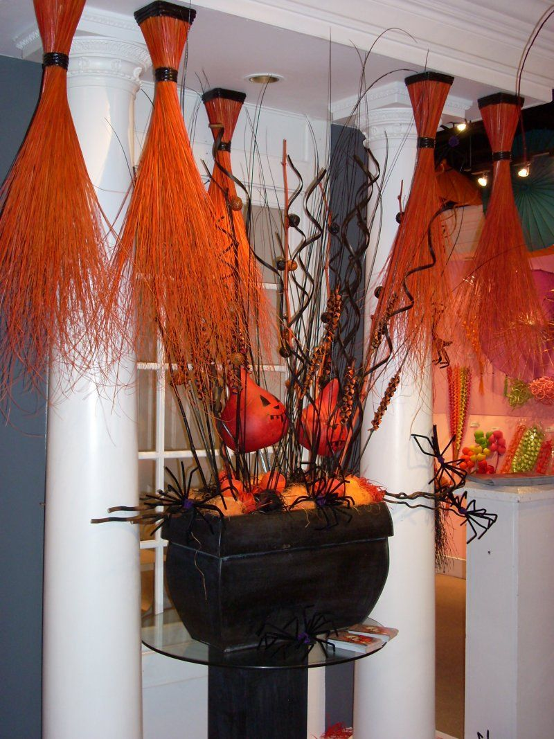 Halloween Flower Arrangements No additional charge for delivery - Halloween House Decoration