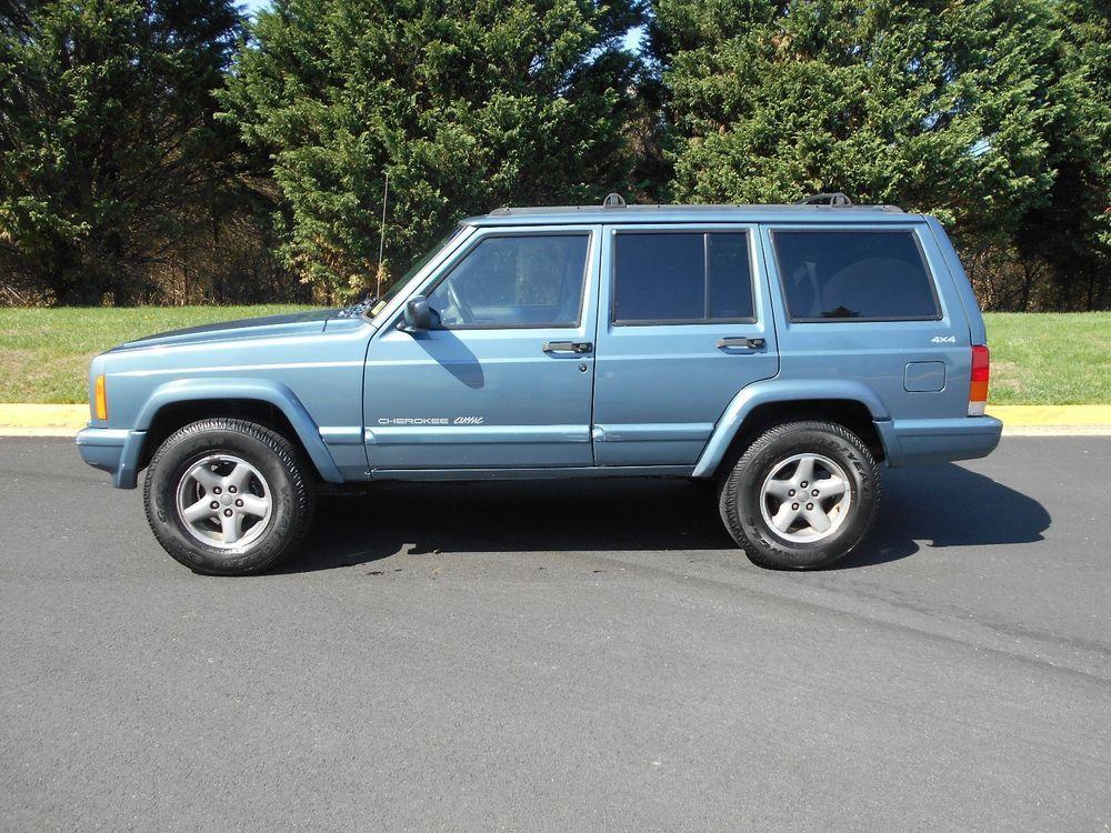 1998 Jeep Cherokee Sport 4Door 4WD Automatic 4.0L L6 OHV