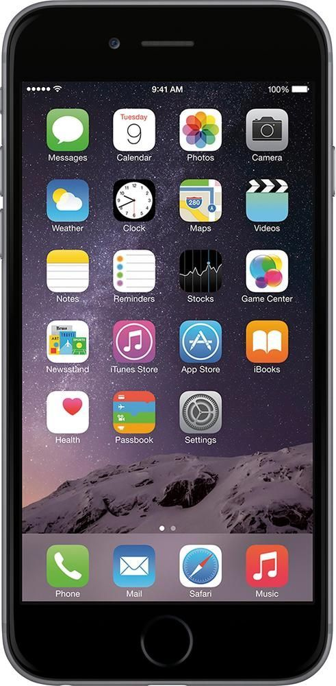 Boost Mobile - Apple iPhone 6 4G with 32GB Memory Prepaid Cell Phone