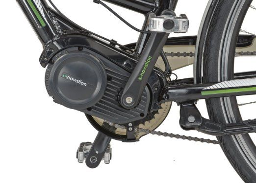 Prophete Muži E-Bike Navigator 4 0, Brilliant Black, 28