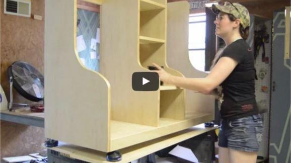 Video How To Build A Diy Golf Bag Organizer