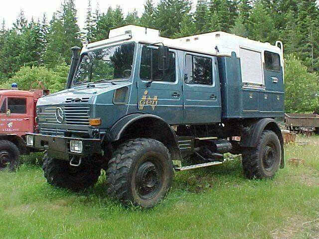 Dual Cab Unimog Vehicles Expedition Vehicle Bug Out Vehicle