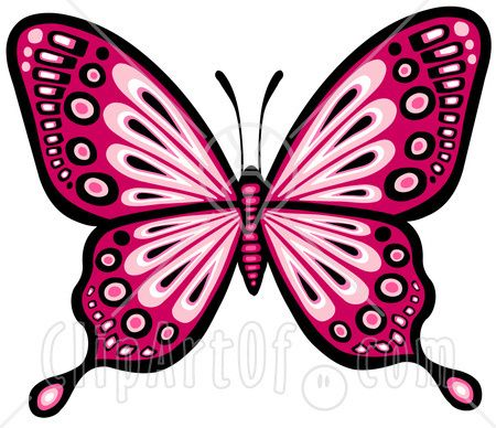 pretty butterfly clip art google search butterfly silhouettes rh pinterest ca clipart of butterfly outline clipart of butterfly wings