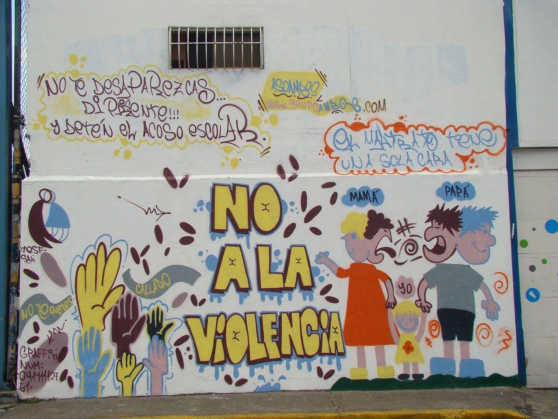 Sensibilizacion Contra La Violencia Venezuela Caracas Los Dos