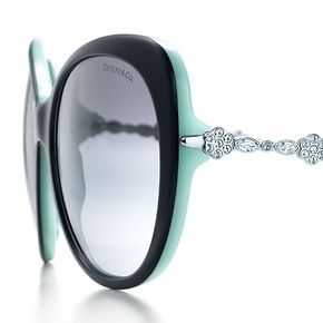 ccf1ad39a0c2 Tiffany   Co Garden cat eye sunglasses in black acetate with Swarovski  crystal detail. Might be adding to my Tiffany   Co sunglass collections  with these!