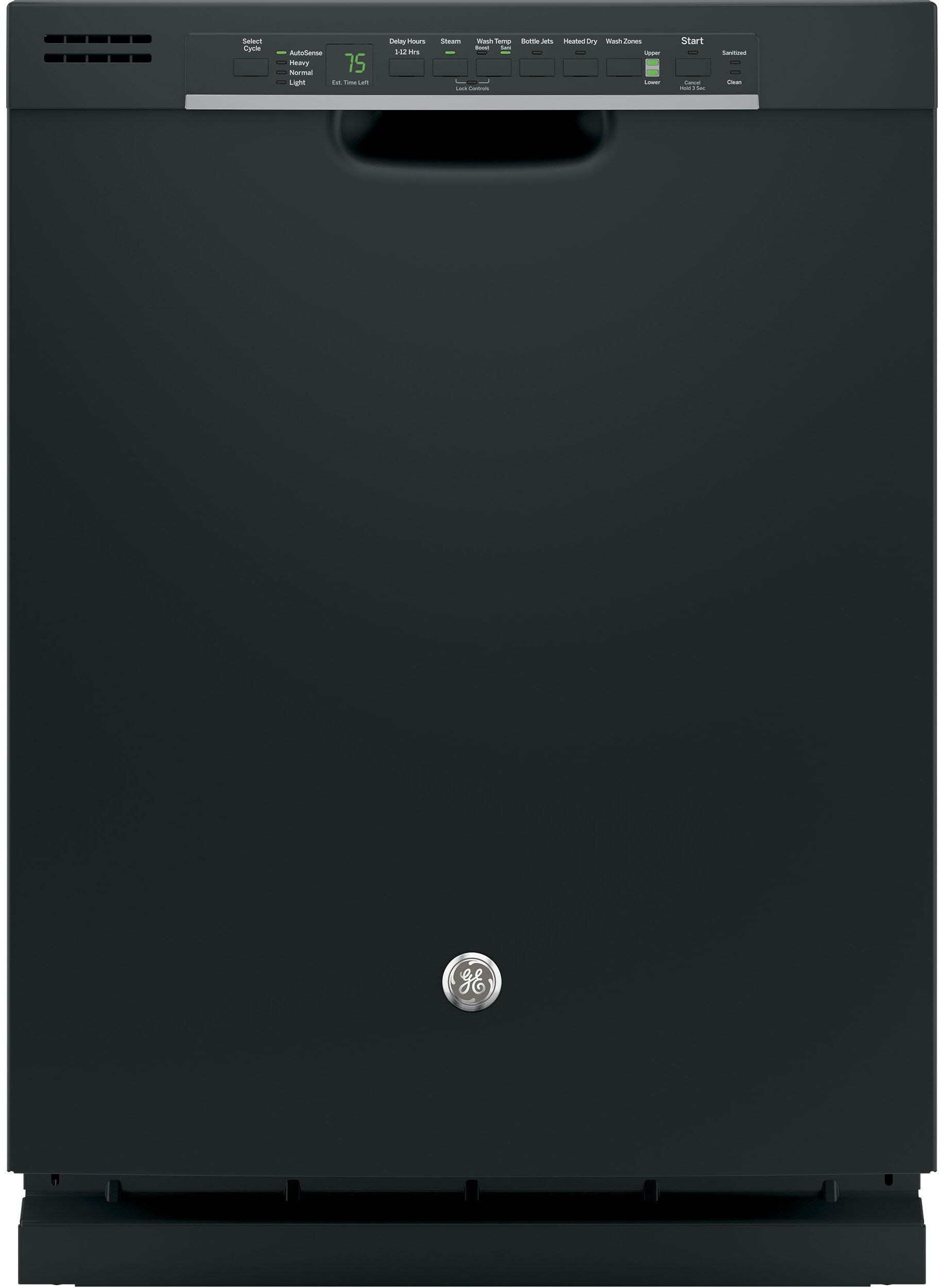 The Ge Gdf610 Is Affordable Has A Ton Of Features And Gets Dishes Both Clean And Dry Black Dishwasher Built In Dishwasher Steel Tub