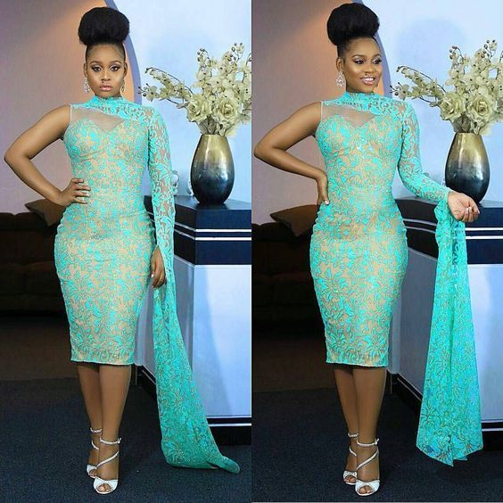 Pin By Dorothy Gyimah On Trending African Fashion Nigerian Lace Dress Short Dress Styles Lace Dress Styles