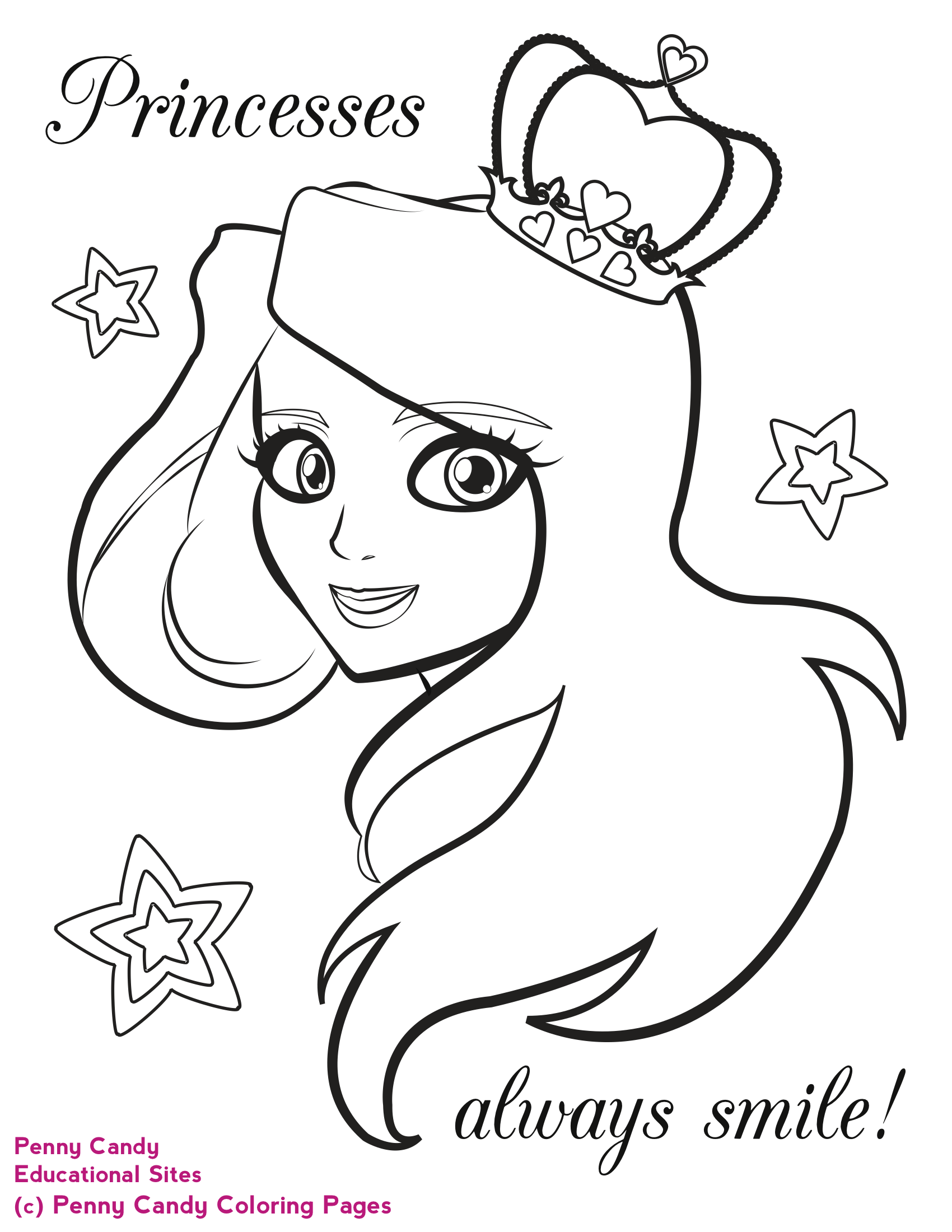 Kids coloring book pages free - Kid Coloring Printables Kids Coloring Pages Printable Princess