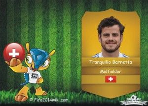 Tranquillo Barnetta Switzerland Player Fifa 2014 Shaqiri Fifa Mertesacker