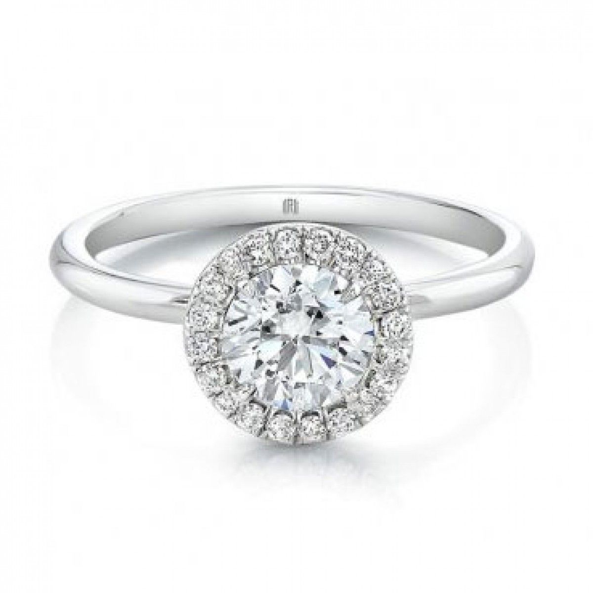 Forevermark Center of My Universe™ Round Halo Engagement ...