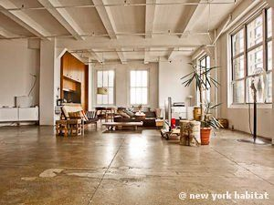 New York Alcove Studio Loft Apartment Living Room Ny 11303 Photo 4 Of 9 Studio Loft Apartments New York Apartment Loft Apartment